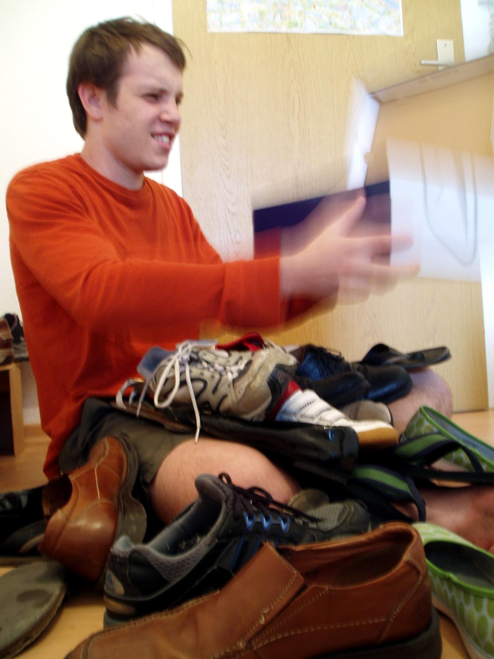 Dan's shoebox of receipts