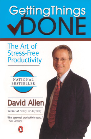 Shoeboxed giving out free David Allen GTD book