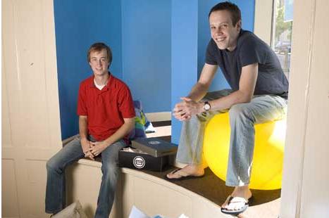 Duke students that started Shoeboxed.com