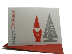 Include a business card with your holiday card