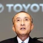 Toyota CEO Katsuaki Watanabe