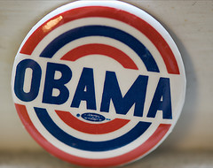 Buttons for Obama