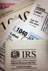 The Dreaded IRS Forms