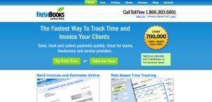 Use FreshBooks for easy invoicing