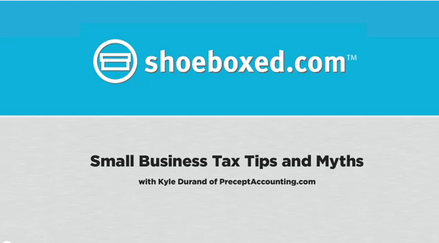 Small Business Tax Tips and Myths