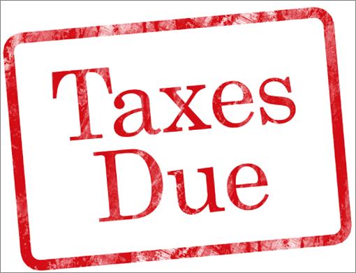 Taxes-Due (Photo Credit BigStockPhoto.com)