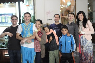 The Shoeboxed Team in Romania