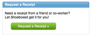 Shoeboxed Request a Receipt