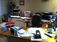 Shoeboxed Messy Desk Contest