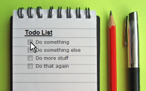 Organize your To-Do list
