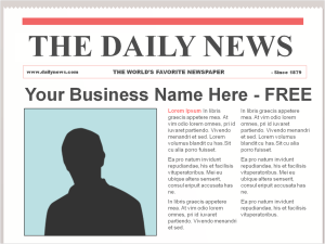 Free Publicity - How to Get Free Press for Your Business