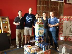 Shoeboxed Team at Creative Food Drive 2012