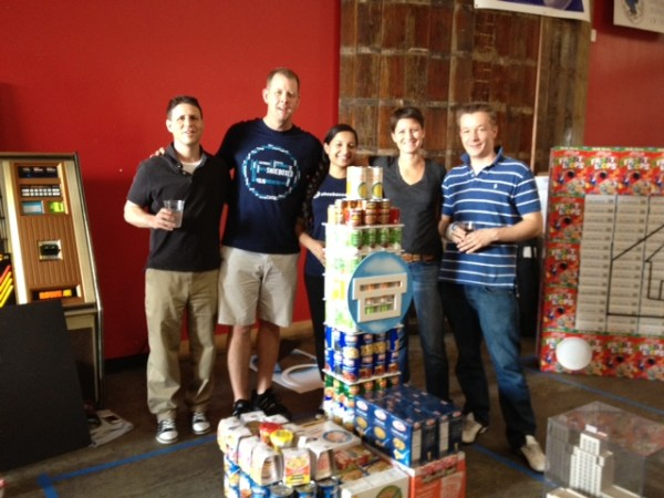 Shoeboxed Team at Creative Food Drive 2012