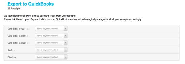 Shoeboxed QuickBooks Online Integration