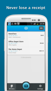 Shoeboxed Receipt Tracker for Android