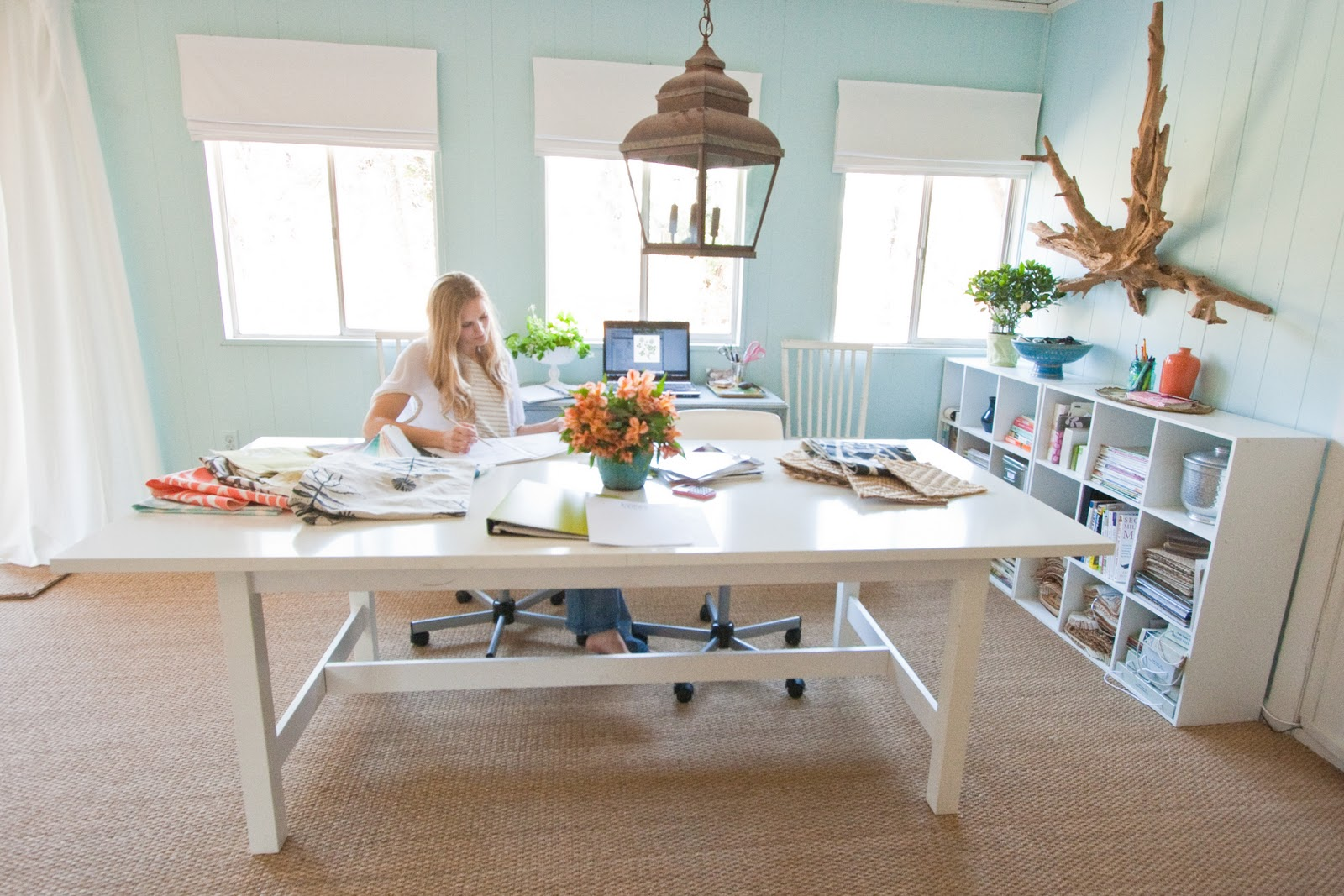 6 Ways to Define Your Workspace at Home | The Shoeboxed Blog