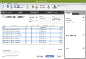 Create Purchase Orders to Safeguard Business Deals