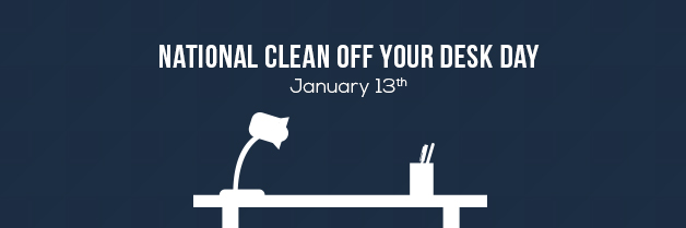 Celebrate National Clean Off Your Desk Day & Win Awesome Prizes