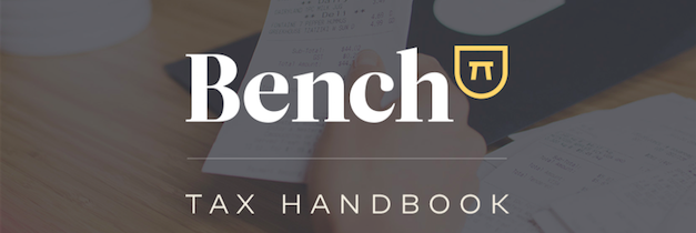 Presenting the Small Business Tax Handbook by Bench