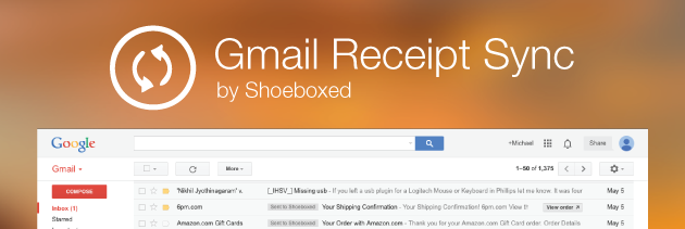 Introducing Gmail Receipt Sync