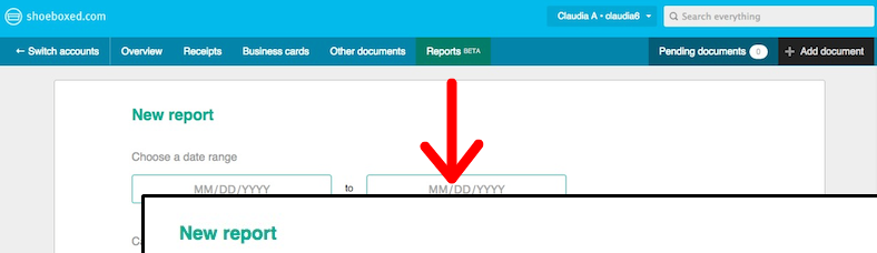 New Shoeboxed Reports (Beta Version) Is Here!