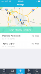 Use Shoeboxed mileage tracking to keep accurate records of business expenses related to vehicle use