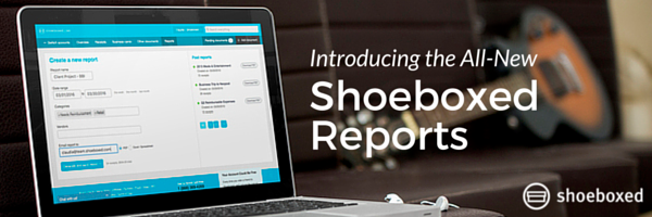 [New Feature] Build Custom Expense Summaries with Shoeboxed Reports