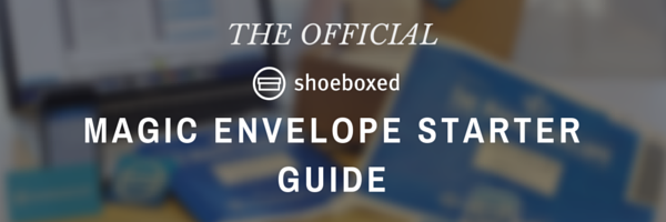 The Official Shoeboxed Magic Envelope Starter Guide