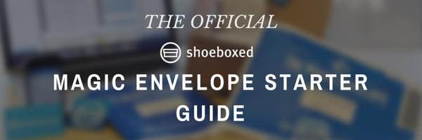 The Official Shoeboxed Magic Envelope Starter Guide