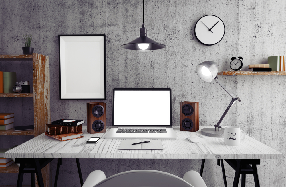 """The Home Office of the Future: """"Smart"""" Tech Tools for  More Productive Work Day"""